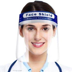 10 x Gezichtscherm | Spatmasker | Gezichtmasker | Beschermkap voor gezicht | Face Shield 10 x Gezichtscherm | Spatmasker | Gezichtmasker | Beschermkap voor gezicht | Face Shield